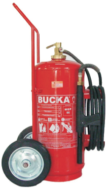 Extintor de Incêndio Sobre Rodas Espuma Mecânica