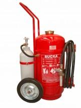 Extintor de Incêndio Sobre Rodas Pó Químico ABC Pressurização Direta