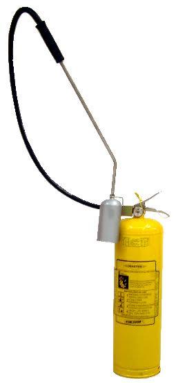 Extintor Classe D - Fogo em metais pirofóricos