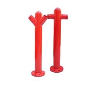 Coluna de hidrante 2 saidas t ou y