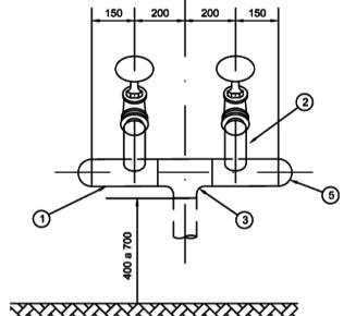 Coluna hidrante petrobras N 111