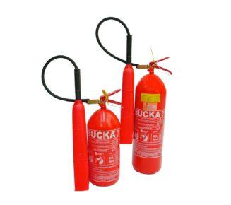 Extintor de incendio portatil CO2