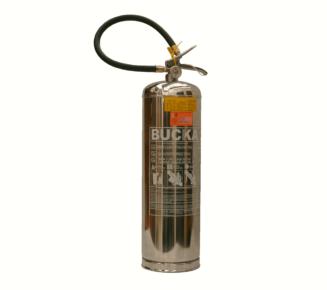 Extintor de incendio portatil em aco inox