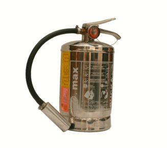 Extintor de incendio portatil Fe 36 inox