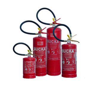 Extintor de incendio portatil po quimico ABC