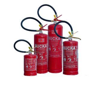 Extintor de incendio portatil po quimico BC