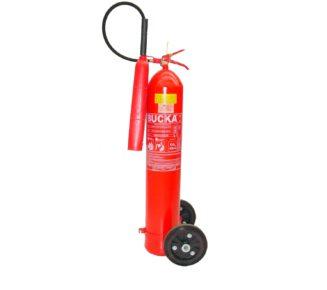 Extintor de incendio sobre rodas co2 10kg
