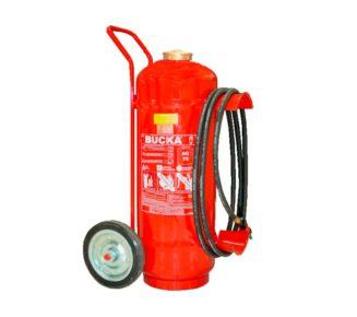 Extintor de incendio sobre rodas de agua