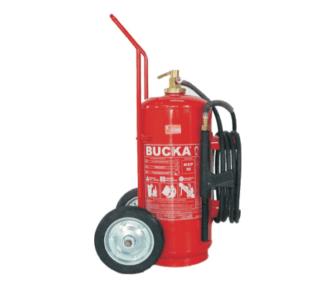 Extintor de incendio sobre rodas espuma mecanica
